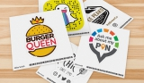 Free Sticker of your Business Logo