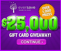 Join the $25,000 Gift Card Giveaway