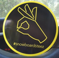 Snowboard Steez: Free Sticker