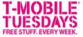 T-Mobile Tuesdays - Free Stuff from T-Mobile